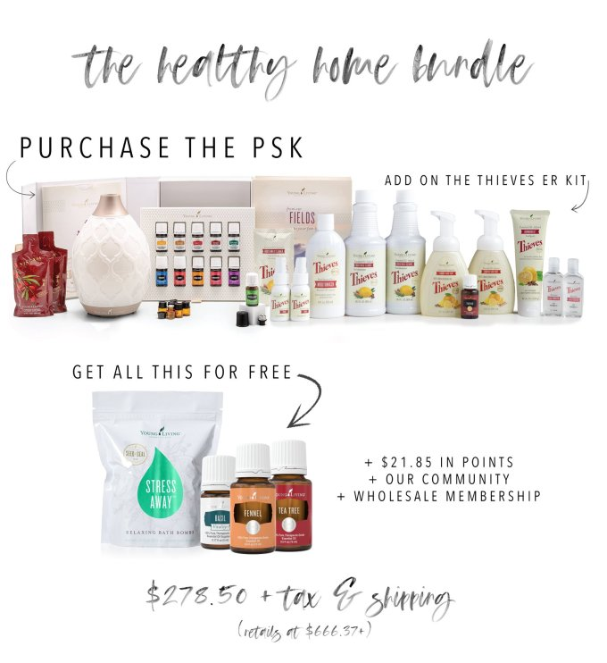 April healthy home bundle